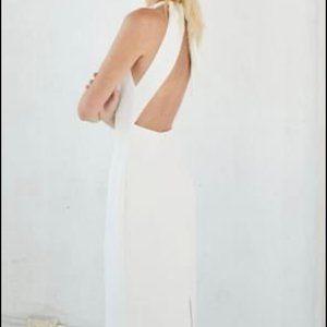 Third Form White Dress